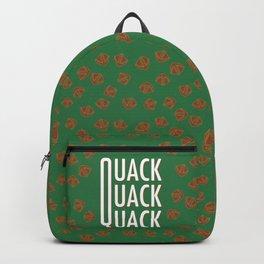 Quack quack quack like a duck Backpack