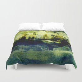 abstract landscape with light Duvet Cover