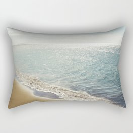 beauty and the beach Rectangular Pillow