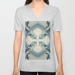 Project 71.41 - Abstract photo-montage Unisex V-Neck