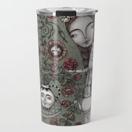 When it Snows Outside (My Secret Garden) Travel Mug