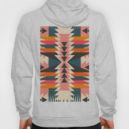 Colorful ethnic decoration Hoody