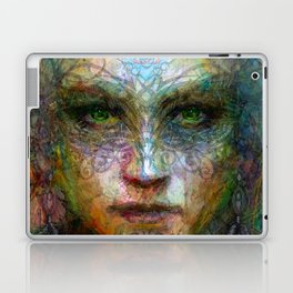 Tribal girl Laptop & iPad Skin