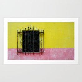color window Art Print
