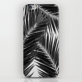 Palm Leaf Black & White III iPhone Skin