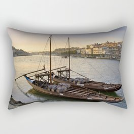 Oporto sunset,  Portugal Rectangular Pillow