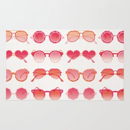 Sunglasses Collection – Pink Ombré Palette Rug