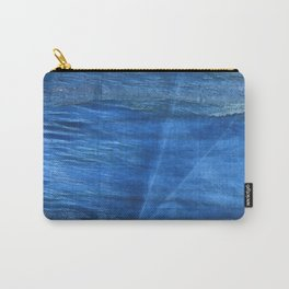 Lapis lazuli abstract watercolor Carry-All Pouch