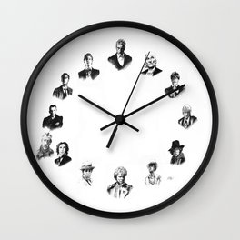 DOCTOR WHO: ALL THIRTEEN Wall Clock