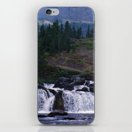 Red Rock Falls iPhone Skin