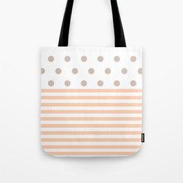 Simple pink dot Tote Bag