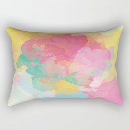 RAINBOW SPLATTER LAYERS Rectangular Pillow