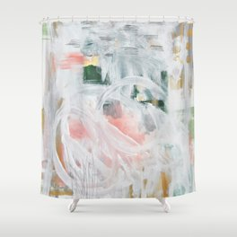 Emerging Abstact Shower Curtain