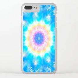 Rainbow Starlight Clear iPhone Case