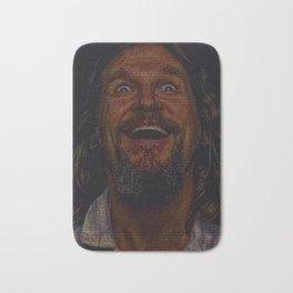 The Dude (Lebowski Screenplay print) Bath Mat