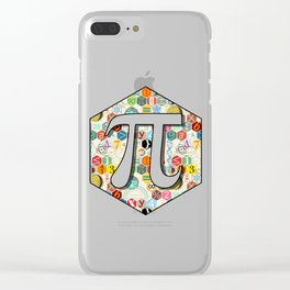 Math in color (little) Clear iPhone Case