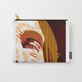 """""""Faces - Petty"""" by Kailyn Boehm Carry-All Pouch"""