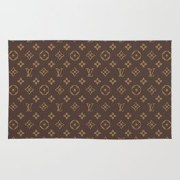 LV pattern Rug
