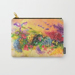 A bouquet of beautiful wildflowers Carry-All Pouch