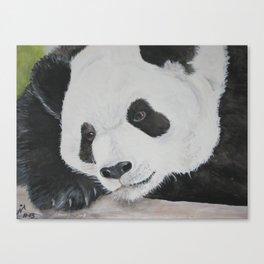 Panda Bear http://society6.com/BarbaraNault Canvas Print