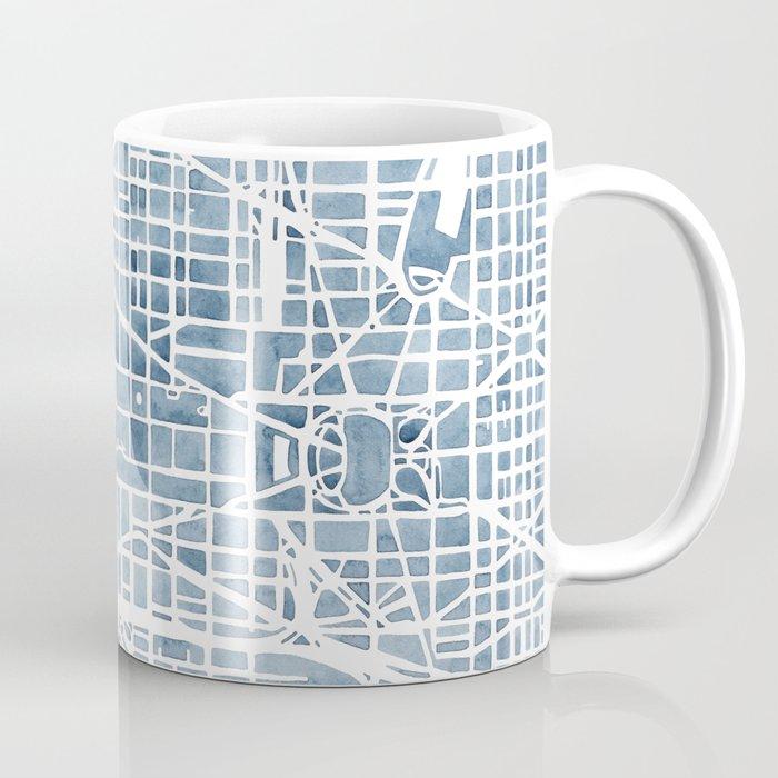 Washington dc blueprint watercolor map coffee mug by aemcdraw society6 washington dc blueprint watercolor map coffee mug malvernweather Choice Image
