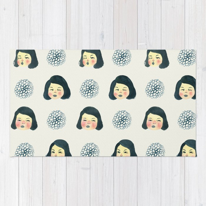 Girly Rugs For Bedroom: Girly : 소녀감성 Rug By Youngju