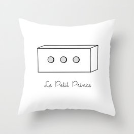 The Little Prince, box Throw Pillow