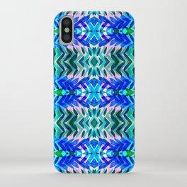Tropical Blue iPhone Case