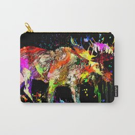 Moose Grunge Carry-All Pouch