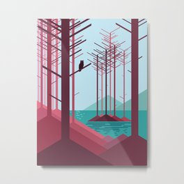 The guardian of the forest Metal Print