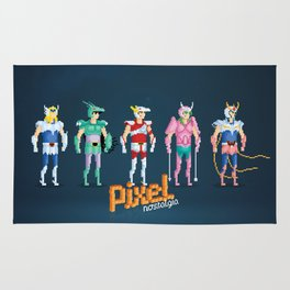 Saint Seiya - Pixel Nostalgia Rug