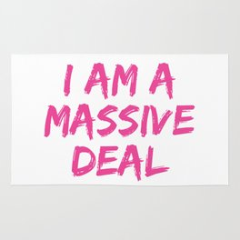 I Am A Massive Deal Rug