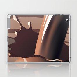 Chocolate milk splash Laptop & iPad Skin