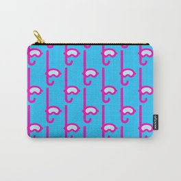 Pink Snorkel - Diver Pattern Carry-All Pouch