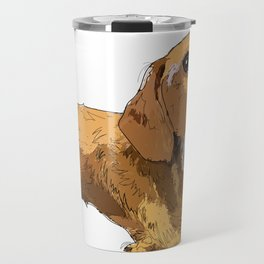 Hans the dachshund Travel Mug