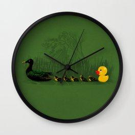 Rubber Duckling Wall Clock