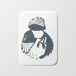 Yellow-billed Magpie Bath Mat