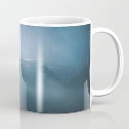 Cloudy Mount Rainier Coffee Mug