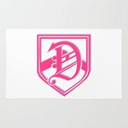 Super-Femme DALTON ACADEMY Logo Rug