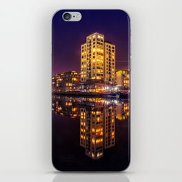 Reflections Dublin Docklands iPhone Skin