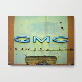 GMC Metal Print