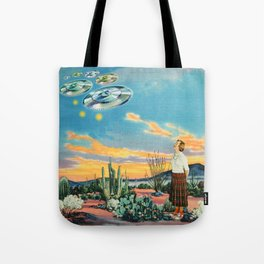 They were here before us Tote Bag