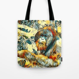 AnimalArt_OrangUtan_20170601_by_JAMColorsSpecial Tote Bag