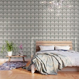 pig damask Wallpaper