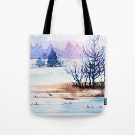 Winter scenery #13 Tote Bag