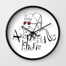 Angry Old Hippie (Original) Wall Clock