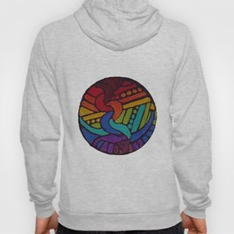 Rainbow Disc Hoody