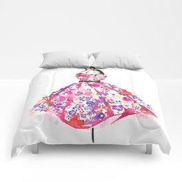Floral Dress Comforters