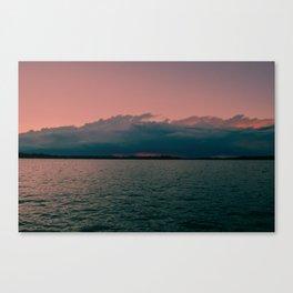 Sorbet Sunset Canvas Print