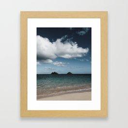 Lanikai Beach Framed Art Print